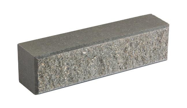 Облицовочный кирпич LAND BRICK колотый светло-серый 250х60х65 мм