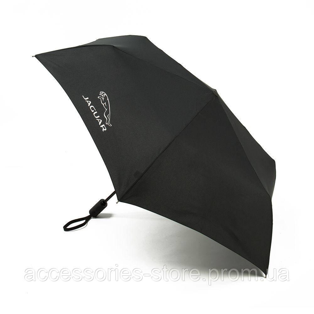 Складной зонт Jaguar Pocket Umbrella Black 2015