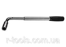 """Ключ баллонный Г - образный 1/2"""" телескопический, 17 х 19 мм MTX 142379"""