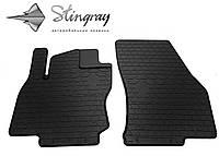 Резиновые коврики Stingray Стингрей Ауди КУ2 2016- Комплект из 2-х ковриков Черный в салон. Доставка по всей Украине. Оплата при получении