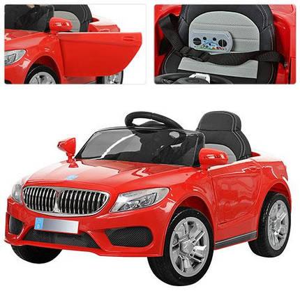Детский электромобиль Bambi BMW красный M 3270, фото 2