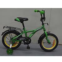 Двухколесный велосипед PROFI 16 дюймов G1632 Racer зеленый