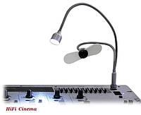 12V XLR - подсветка угловая для пульта