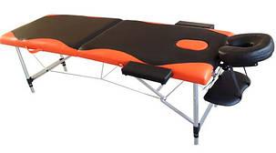Массажный стол PBT 2 сегментный 2-цветный  алюминиевый, фото 2