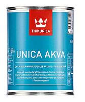Уника аква. Unica acva. акрилатная краска для окон и дверей внутри и снаружи. Полуглянцевая 0,9 л