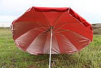 Зонт круглый, торговый, садовый 2,4м. Прочный зонт для торговли, для пляжа!