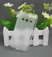 Epik TPU чехол для Samsung Galaxy Ace 4 G313H             Бесцветный (Soft-touch)