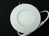 Светильник точечный Slim LED 3W круг 4000К,3000К