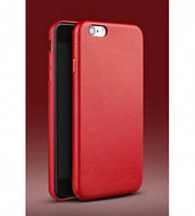 "Кожаная накладка iPaky для Apple iPhone 6/6s (4.7"")            Красный"