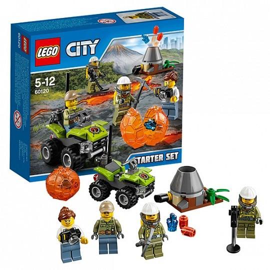 LEGO City Вулкан стартовый набор 60120