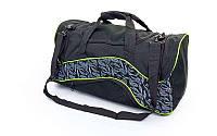 Сумка спортивная DUFFLE BAG AD GA-7105 (PL, р-р 50х26х26см, серый, красный, синий)