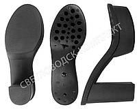 Подошва для обуви PU-3250, р. 37, цв. черный