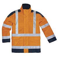Куртка EASYVIEW L, Оранжевый/тёмно-синий
