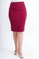 Женская юбка Илона красная