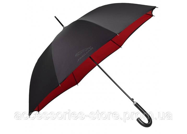 Зонт трость Jaguar Golf Stick Umbrella, Black/Red