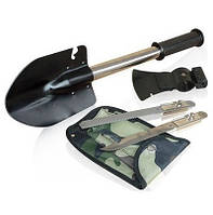 Набор лопата 4 в 1 (лопата, пила, топор, нож)