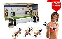 Гантель для фитнеса SHAKE (1 x 2,5LB) SW2000RT (1шт, металл, пластик, Tone Exercise System)
