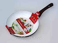 Сковорода с керамическим антипригарным покрытием 28 см CON BRIO CB-4284