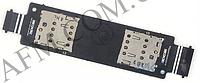 Конектор Sim Asus ZenFone 5 (A500KL/  A500CG/  A501CG) Dual Sim на шлейфе на 2 Sim- карты