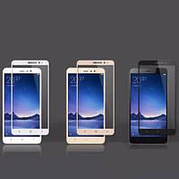 Защитное стекло CP+ на весь экран цветное Xiaomi Redmi Note 3 / Redmi Note 3 Pro Черный