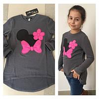 Ангоровая туника для девочек Минни Маус (разные цвета)
