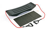Платформа балансировочная 880 GO-GO BALANCE (пластик, р-р 105x31x18см,2 эспандера, коврик, DVDдиск)