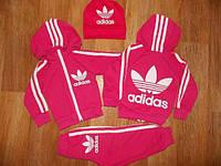 Спортивный костюм для девочки Adidas розовый