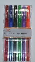 Набір ручок 6 кольорів масляні Tianzhijiaozi № TY501P-6