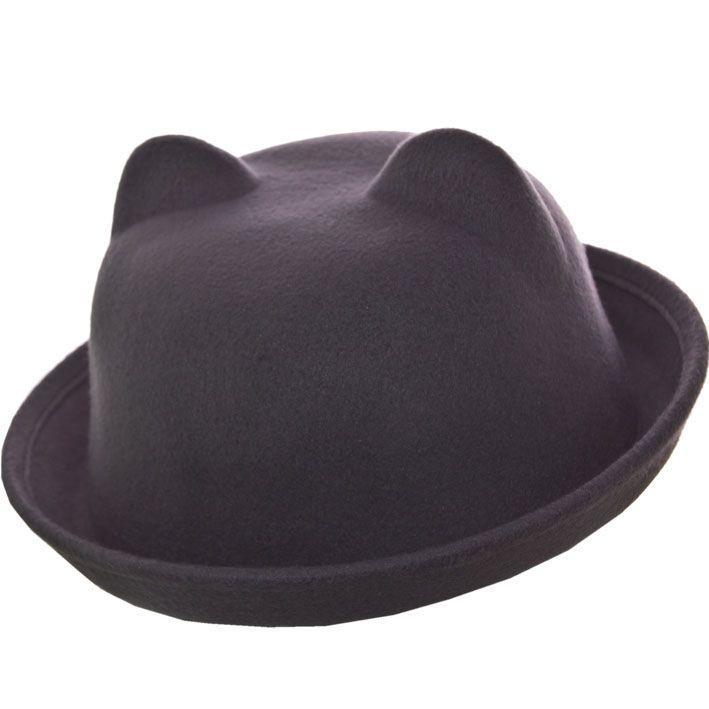 Шляпа фетровая F16001 серый