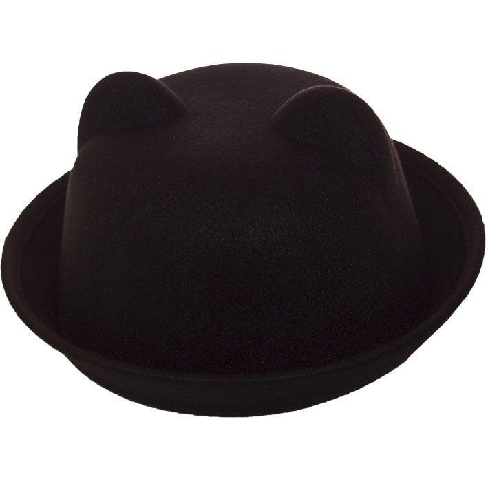 Шляпа фетровая F16001 чёрный
