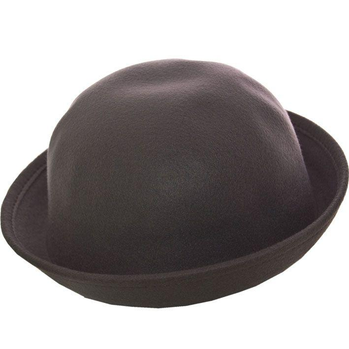 Шляпа фетровая F16002 серый
