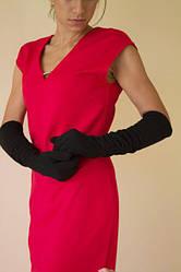 """Женские перчатки до локтя. 50 см в подарок от магазина """"Соболини"""""""