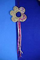 Оберег-цветок, домашний декор, фото 1