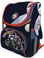 Ранец школьный Moto racing каркасный