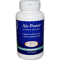 Enzymatic Therapy, Сила воздуха, средство для дыхательных путей, 100 таблеток