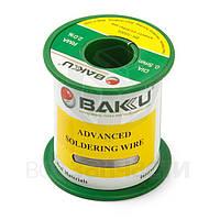Припой BAKU BK-10005, Sn 97% , Ag 0,3%, Cu 0,7%, флюс 2%, 0,5 мм, 100 г