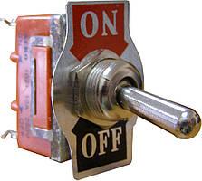 Тумблер АСКО-УКРЕМ 1021 Вкл-Выкл 2-положения х 2-контакта