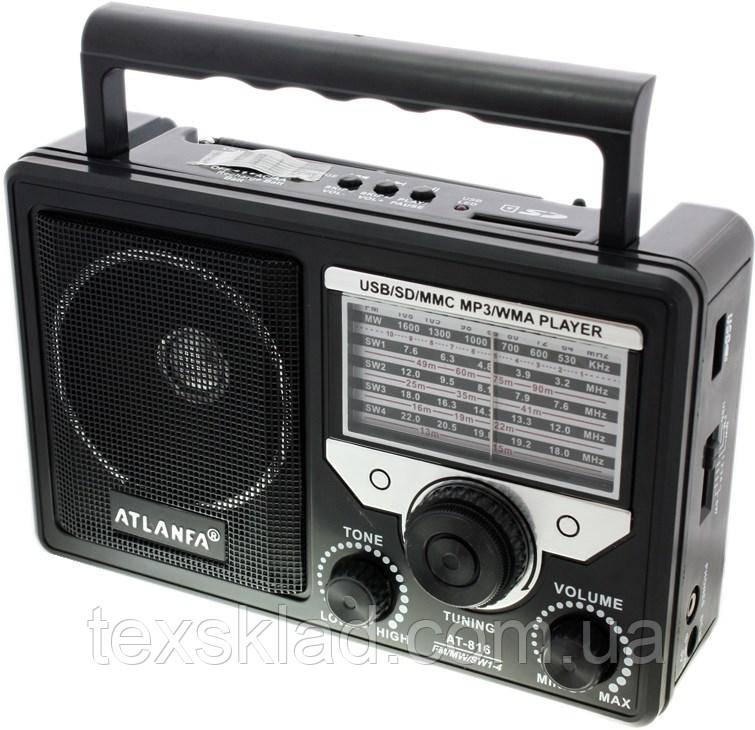 Радио AT-816 (USB/Аккумулятор)