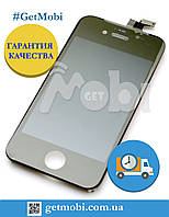 Дисплейный Модуль Iphone 4S black (Orig IC) дисплей + сенсор (touchscreen)