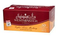 Чай Westminster tea пакетированный черный 50пак