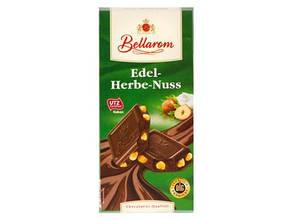 Шоколад Bellarom Hazelnut Chocolate черный с орехом 200г