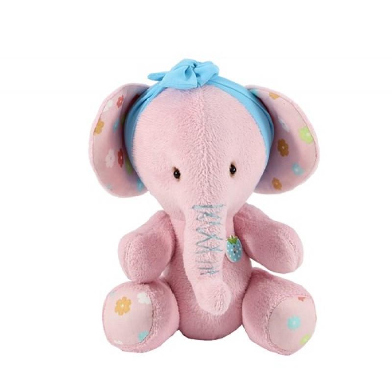 Плюшевый Слон (Розовый цветочек), Sunny Bunny
