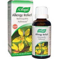 A Vogel, Снятие Симптомов Аллергии, Гомеопатический Поллинозан 1.7 жидких унции (50 мл)