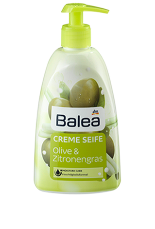 Жидкое мыло Balea Olive & Zitronengras 500 мл, фото 2