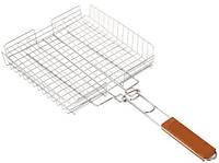 Решетка для гриля- барбекю сетка с бортом(малая)