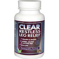 Clear Products, Clear Restless Leg Relief, 60 caps, 60 caps