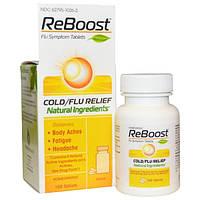 MediNatura, РеБуст, облегчение при простуде/гриппе, 100 таблеток