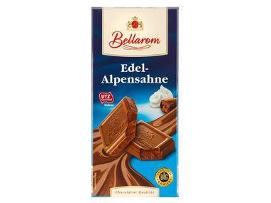 Шоколад Bellaraon Edel-Alpensahne молочный 200 г, фото 2