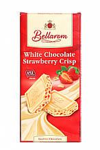 Шоколад Bellarom White Сhkolade Strawberry Crisp белый с клубникой 200г