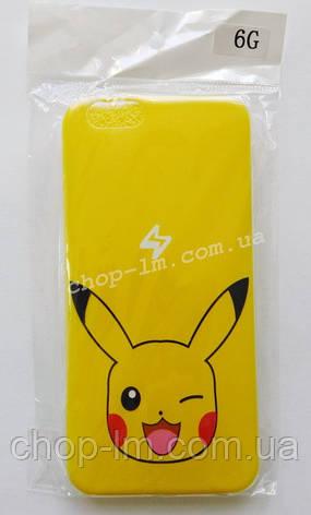 """Чехол-накладка """"Пакемон/Pokemon"""" для iPhone 6G, фото 2"""